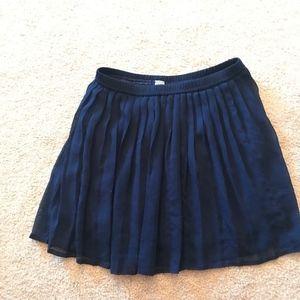 Navy Blue Ballerina Skirt Girls 8